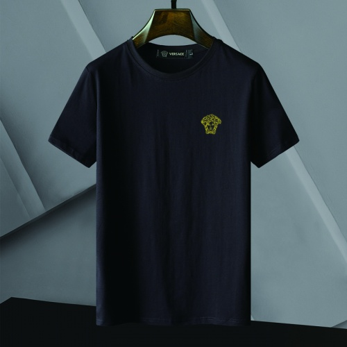 Versace T-Shirts Short Sleeved For Men #866057 $25.00 USD, Wholesale Replica Versace T-Shirts