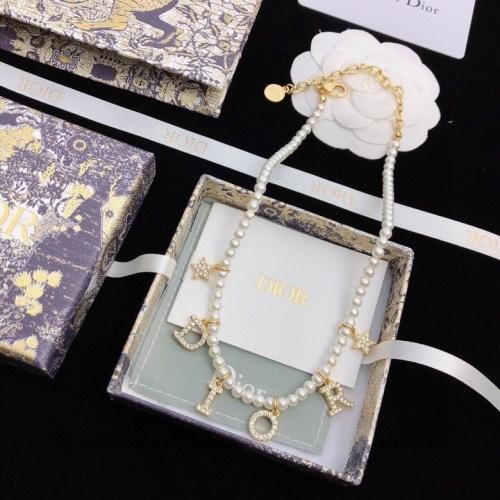 Christian Dior Necklace #866207 $36.00 USD, Wholesale Replica Christian Dior Necklace