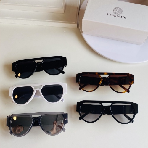 Replica Versace AAA Quality Sunglasses #866292 $60.00 USD for Wholesale