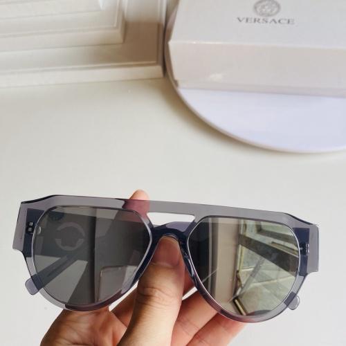 Versace AAA Quality Sunglasses #866293 $60.00 USD, Wholesale Replica Versace AAA+ Sunglasses