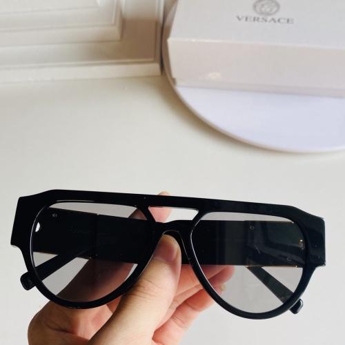Versace AAA Quality Sunglasses #866294 $60.00 USD, Wholesale Replica Versace AAA+ Sunglasses