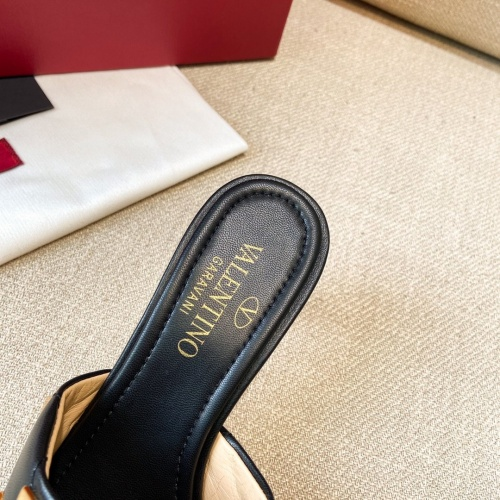 Replica Valentino High-Heeled Shoes For Women #866483 $96.00 USD for Wholesale