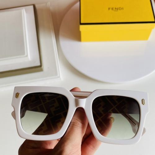 Fendi AAA Quality Sunglasses #866631