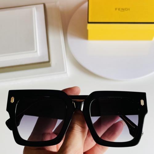 Fendi AAA Quality Sunglasses #866634