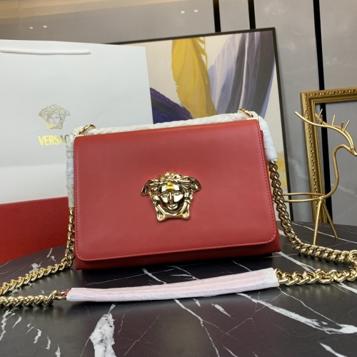 Versace AAA Quality Messenger Bags For Women #866665 $100.00 USD, Wholesale Replica Versace AAA Quality Messenger Bags
