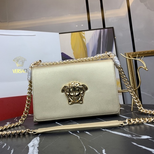 Versace AAA Quality Messenger Bags For Women #866666 $100.00 USD, Wholesale Replica Versace AAA Quality Messenger Bags