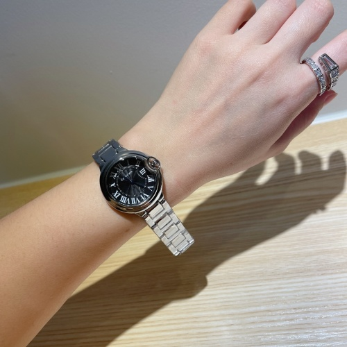 Replica Cartier Watches For Women #866673 $28.00 USD for Wholesale
