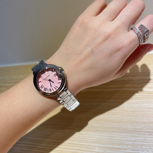 Replica Cartier Watches For Women #866674 $28.00 USD for Wholesale