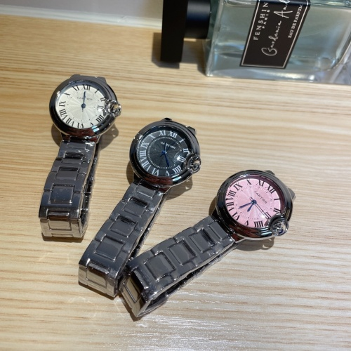 Replica Cartier Watches For Women #866675 $28.00 USD for Wholesale