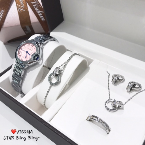 Replica Cartier Watches For Women #866676 $40.00 USD for Wholesale