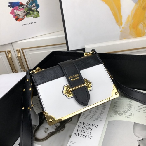 Prada AAA Quality Messeger Bags For Women #866678 $92.00 USD, Wholesale Replica Prada AAA Quality Messeger Bags