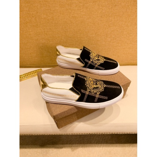 Replica Versace Casual Shoes For Men #866756 $76.00 USD for Wholesale