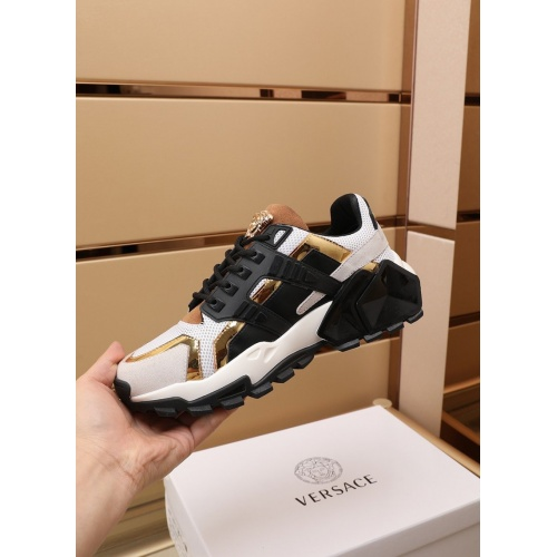 Replica Versace Casual Shoes For Men #866821 $100.00 USD for Wholesale