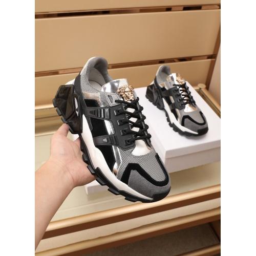 Versace Casual Shoes For Men #866822 $100.00 USD, Wholesale Replica Versace Casual Shoes