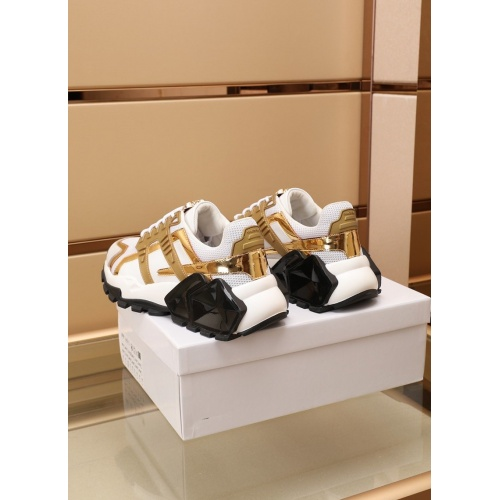 Replica Versace Casual Shoes For Men #866823 $100.00 USD for Wholesale