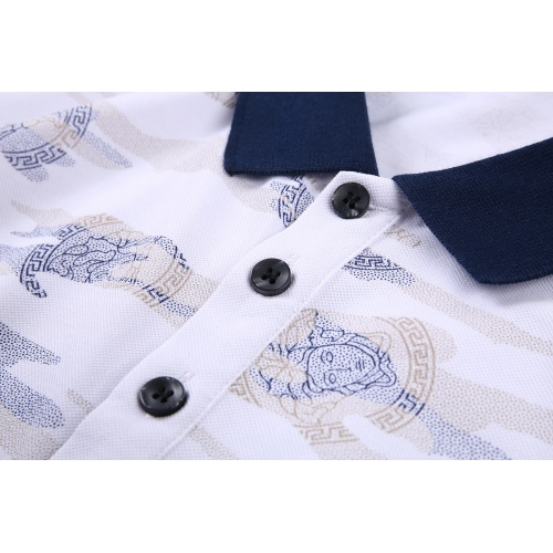 Replica Versace T-Shirts Short Sleeved For Men #866887 $38.00 USD for Wholesale