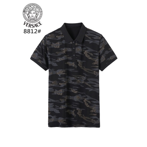 Versace T-Shirts Short Sleeved For Men #866890 $38.00 USD, Wholesale Replica Versace T-Shirts