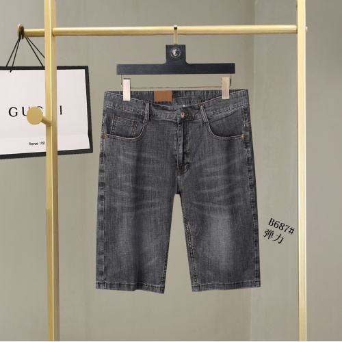 Replica Burberry Jeans For Men #866970 $38.00 USD for Wholesale
