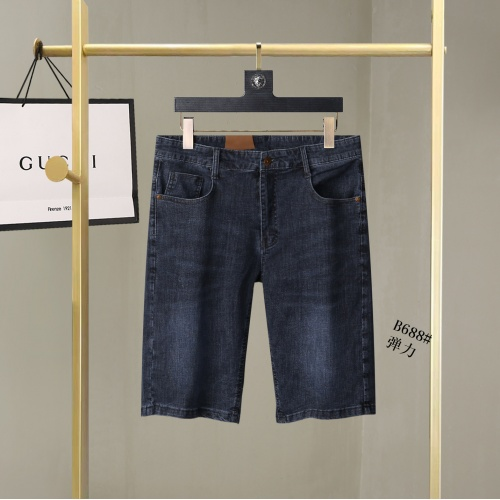 Replica Burberry Jeans For Men #866978 $38.00 USD for Wholesale