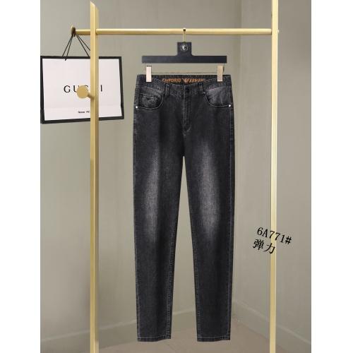 Replica Armani Jeans For Men #866992 $40.00 USD for Wholesale