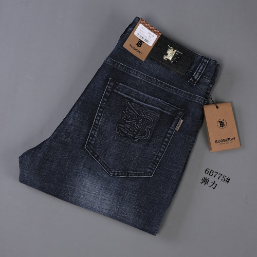 Replica Burberry Jeans For Men #866998 $40.00 USD for Wholesale