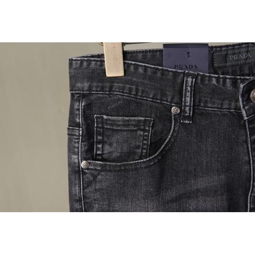 Replica Prada Jeans For Men #867005 $40.00 USD for Wholesale