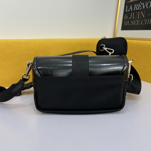 Replica Prada AAA Quality Messeger Bags #867123 $88.00 USD for Wholesale