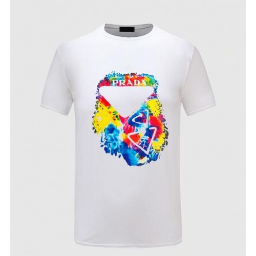 Prada T-Shirts Short Sleeved For Men #867144