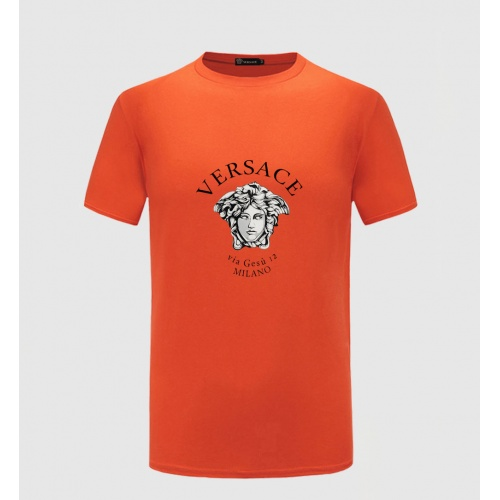 Versace T-Shirts Short Sleeved For Men #867161 $27.00 USD, Wholesale Replica Versace T-Shirts