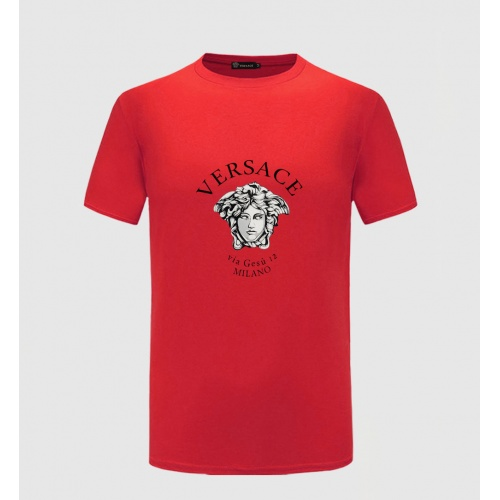 Versace T-Shirts Short Sleeved For Men #867162 $27.00 USD, Wholesale Replica Versace T-Shirts