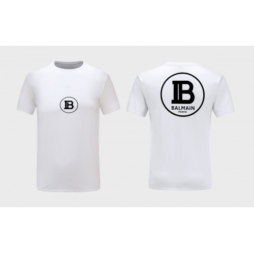 Balmain T-Shirts Short Sleeved For Men #867175