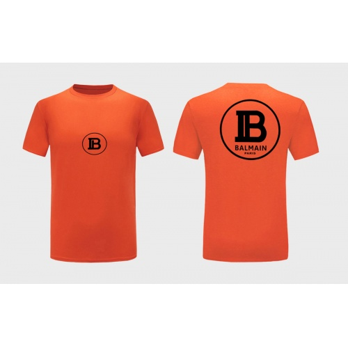 Balmain T-Shirts Short Sleeved For Men #867178