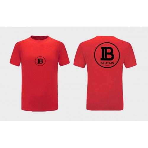 Balmain T-Shirts Short Sleeved For Men #867179