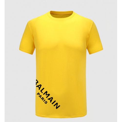 Balmain T-Shirts Short Sleeved For Men #867183