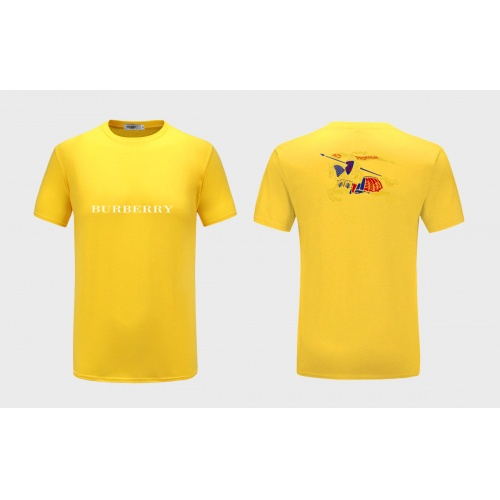 Burberry T-Shirts Short Sleeved For Men #867211 $27.00 USD, Wholesale Replica Burberry T-Shirts