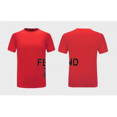 Fendi T-Shirts Short Sleeved For Men #867279 $27.00 USD, Wholesale Replica Fendi T-Shirts