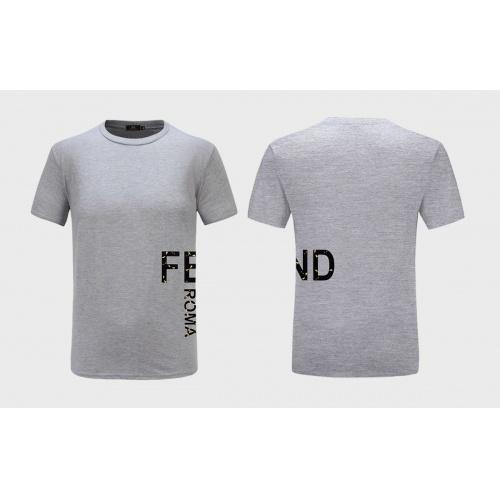 Fendi T-Shirts Short Sleeved For Men #867280 $27.00 USD, Wholesale Replica Fendi T-Shirts