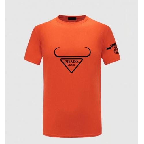 Prada T-Shirts Short Sleeved For Men #867295