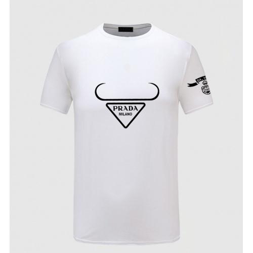 Prada T-Shirts Short Sleeved For Men #867298 $27.00 USD, Wholesale Replica Prada T-Shirts