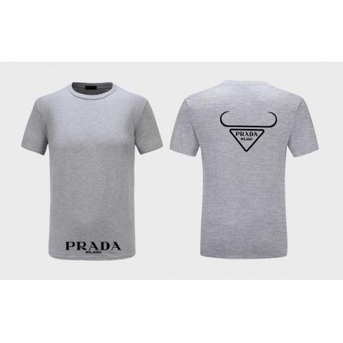 Prada T-Shirts Short Sleeved For Men #867308 $27.00 USD, Wholesale Replica Prada T-Shirts