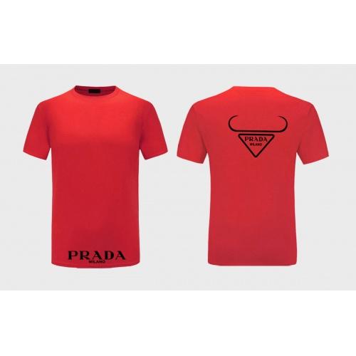 Prada T-Shirts Short Sleeved For Men #867309 $27.00 USD, Wholesale Replica Prada T-Shirts