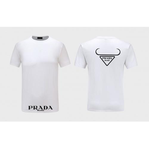 Prada T-Shirts Short Sleeved For Men #867313