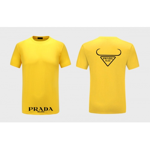 Prada T-Shirts Short Sleeved For Men #867314