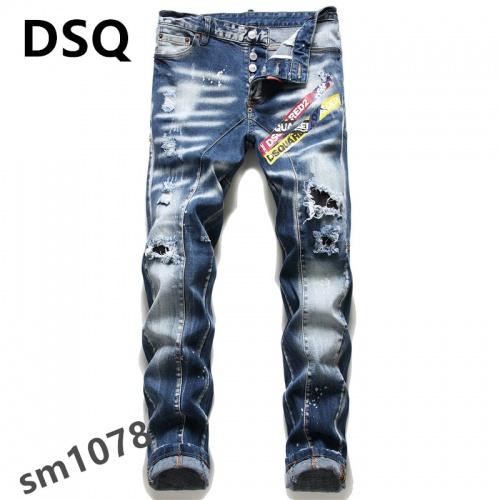 Dsquared Jeans For Men #867368 $48.00 USD, Wholesale Replica Dsquared Jeans