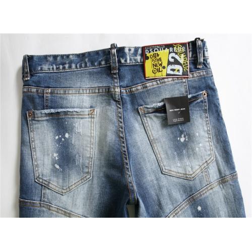 Replica Dsquared Jeans For Men #867368 $48.00 USD for Wholesale