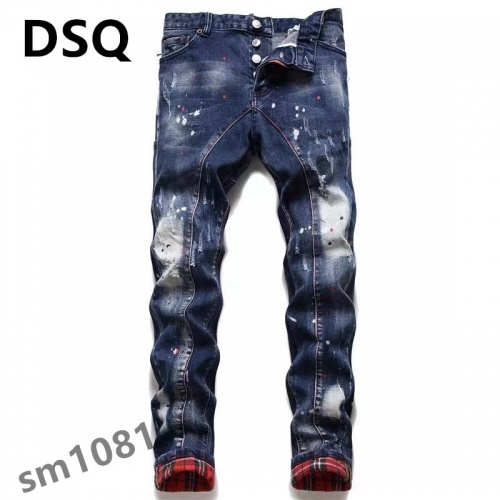 Dsquared Jeans For Men #867369 $48.00 USD, Wholesale Replica Dsquared Jeans