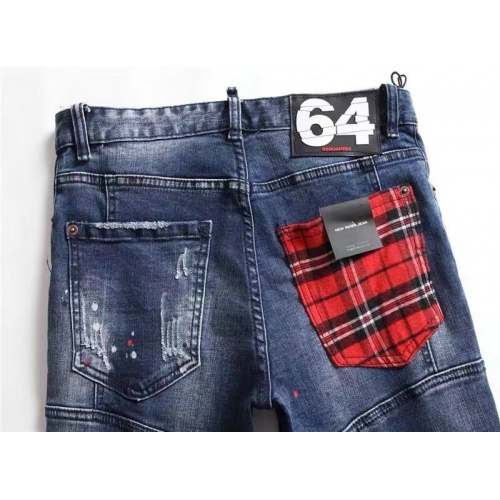 Replica Dsquared Jeans For Men #867369 $48.00 USD for Wholesale