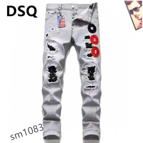 Dsquared Jeans For Men #867371 $48.00 USD, Wholesale Replica Dsquared Jeans
