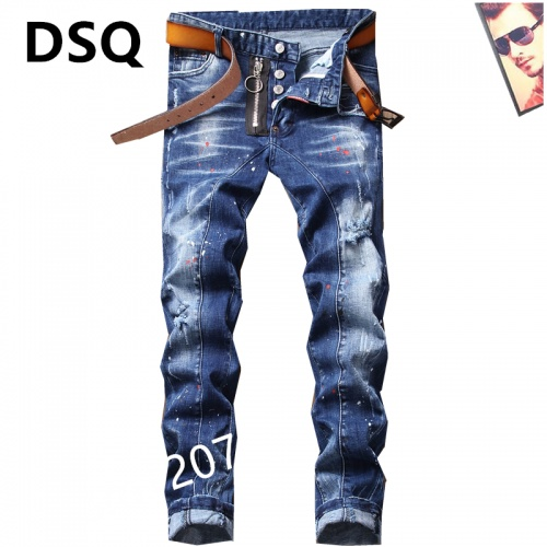 Dsquared Jeans For Men #867374 $48.00 USD, Wholesale Replica Dsquared Jeans