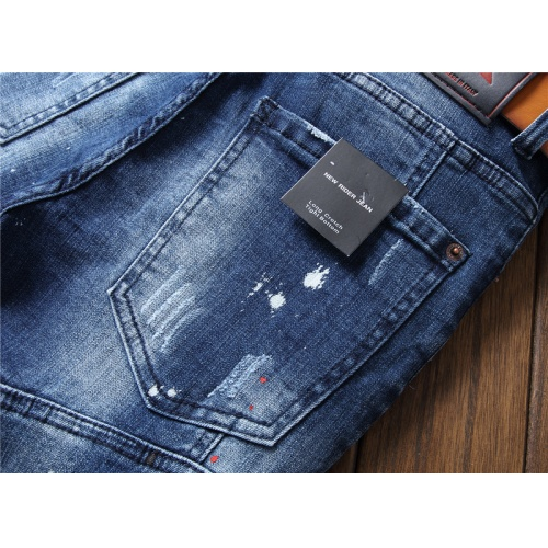 Replica Dsquared Jeans For Men #867374 $48.00 USD for Wholesale